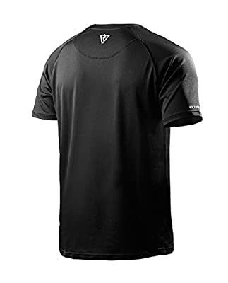 Vaiden BoltX Men's Tall Sports T-Shirt - Silver Technology – Loose, Comfortable, Long Fit – Anti-Odor, Moisture Wicking, Breathable, Quick Dry, Cooling Fitness Tee