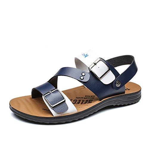Dimensione spiaggia Scarpe pantofole Sandalo Aperta Giallo Sandali Con Sport Anti Blu EU All'aria scivolo 2 40 Wagsiyi Da da 3 Sportive Scarpe Uomo Per Colore xnHEpwa