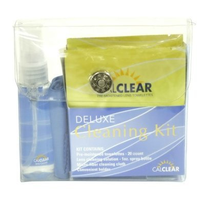Deluxe Cleaning Kit by California Accessories Deluxe Contact Lens Kit