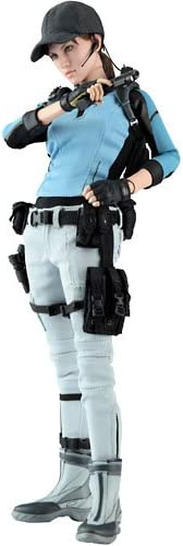 Hot Toys Resident Evil 5 Video Game Masterpiece Jill Valentine Collectible Figure Bsaa Version