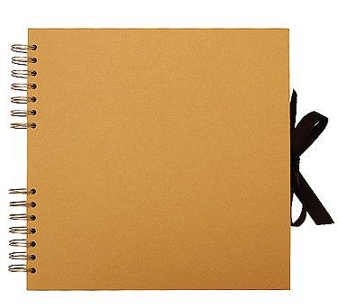 Kraft Square Scrapbook Amazon Office Products