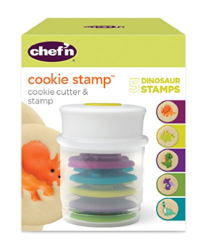 Chef'n Cookie Cutter and Stamp (Dinosaur Shapes) by Chef'n (Image #6)