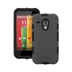 Trident Aegis Series Case for Motorola Moto G - Retail Packaging - Grey