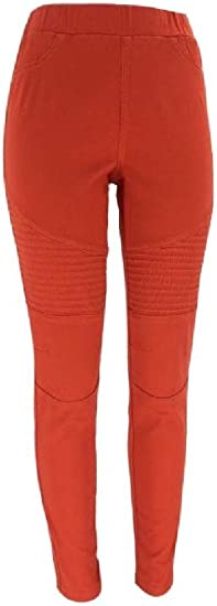 Romancly Womens High Waisted Stretchy Skinny Pencil Pants Big Hips Jeans