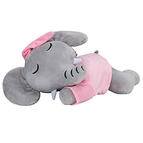 KARRI Plush Elephant, 13'' Mini Elephant Plush,Pink Elephant Stuffed Animals