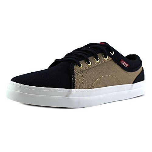da Uomo Canvas Shoes Tan Navy DVS Skateboard Aversa Scarpe SpvHtw
