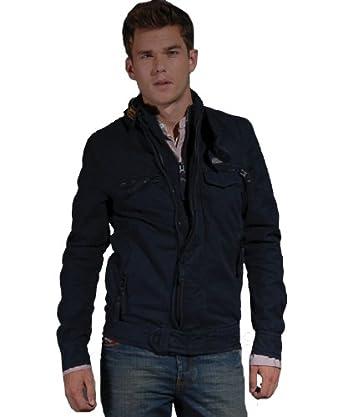 4d3198f0d5626 Mens SUPERDRY Retro Vintage Midnight Hunting Jacket (XL): Amazon.co.uk:  Clothing