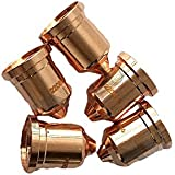 JINLSU Plasma Cutting Torch Consumables Ref: 220941 Nozzle 45A 50PCS
