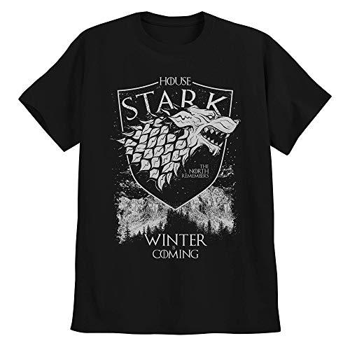 Camiseta Game Of Thrones Camisa Casa Stark Winter Is Coming M