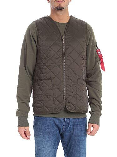 Barbour Men's Bagil00190l73 Green Polyamide Vest