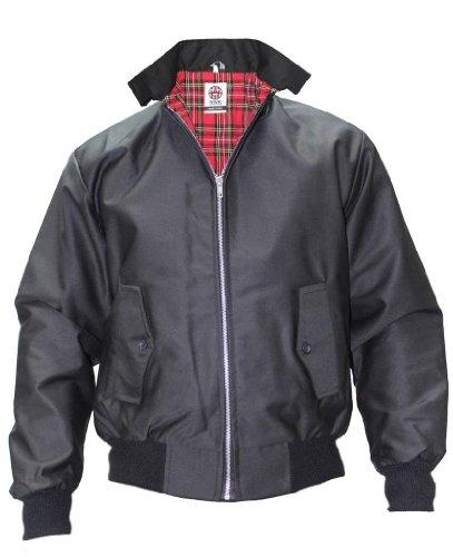 WWK/WorkWear King Men's Harrington Jacket 2XL Black (Best Harrington Jacket Brand)