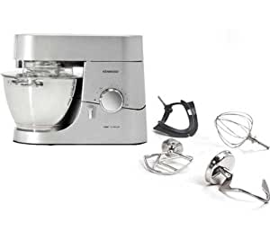 Kenwood robot de cocina chef titanium kmc010 rallador cortador at340 electr nica - Robot de cocina chef titanium ...