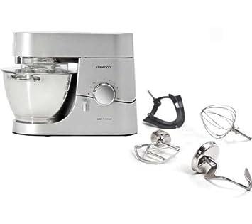 KENWOOD Robot de cocina Chef Titanium KMC010 + Picadora AT950: Amazon.es: Electrónica