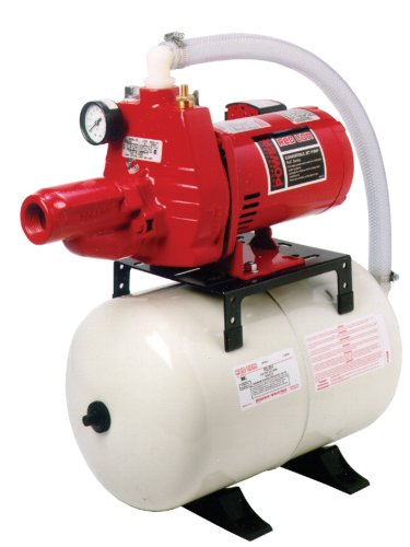 Red Lion RJC-50/RL6H 1/2-HP Convertible Jet Pump and Tank...