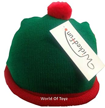 a9158158b7d13 Woolly Red and Green Hat