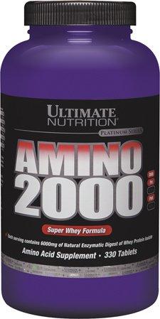 Ultimate Nutrition Amino 2000, 2000 mg, 330 Tablets (Caps 2222 Amino)