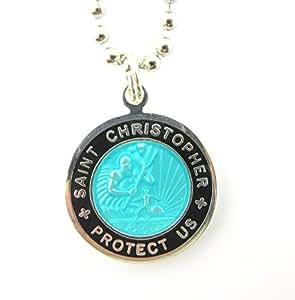 Get Back Designs St Christopher Surf Medal Pendant