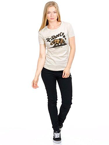 DC Girls T-Shirt Bear and Palms Rainy Day