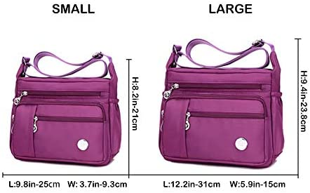 MINTEGRA Women Shoulder Handbag Roomy Multiple Pockets Bag Ladies Crossbody Purse Fashion Tote Top Handle Satchel