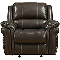 Pulaski Rivera Glider Recliner, Chocolate