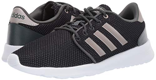 adidas Women's Cloudfoam QT Racer, Legend Ivy/Platino Metallic/Black, 5.5 M US by adidas (Image #5)