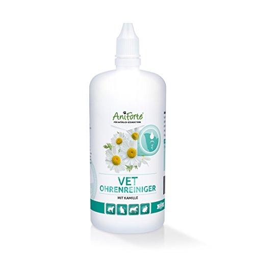 AniForte VET Kamillen-Ohrreiniger 250 ml - Naturprodukt für Tiere