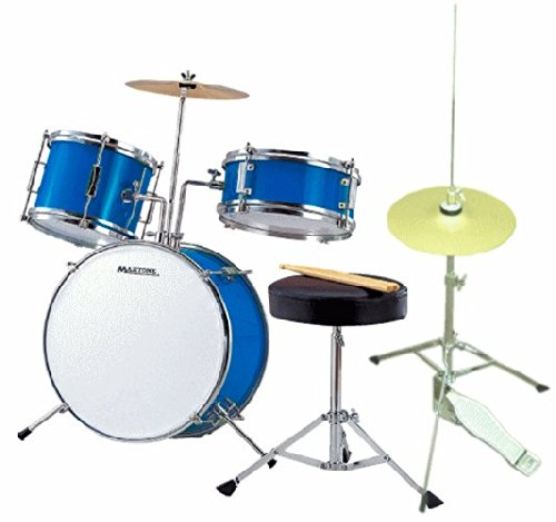ミニドラム(ジュニアドラム)MX-50BLU ハイハット、予備ヘッド付き(子供向けストリートライブなどでも使える)   B00LPFZ82Y