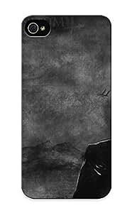 Awesome Ae164bf5049 Resignmjwj Defender Tpu Hard Case Cover For Iphone 5/5s- Tattoos Text Bleach Monochrome Kuchiki Rukia Abarai Renji
