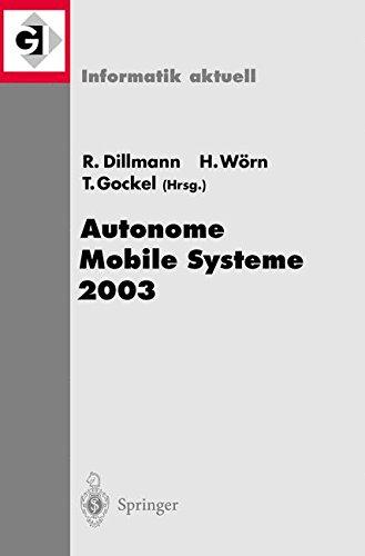 Autonome Mobile Systeme 2003: