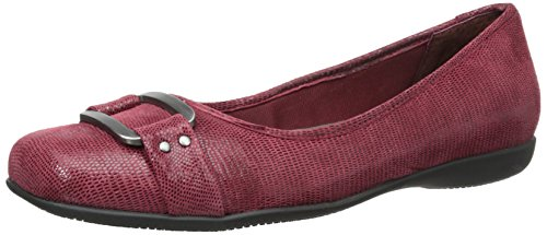 Trotters Sizzle Signature Mujer US 8.5 Rojo Zapatos Planos