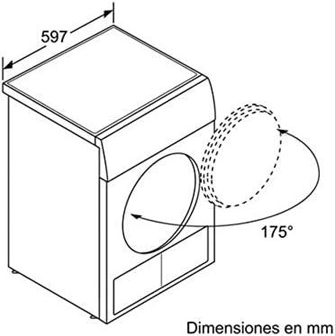 Bosch WTB86260EE - Secadora De Condensación Wtb86260Ee Con ...