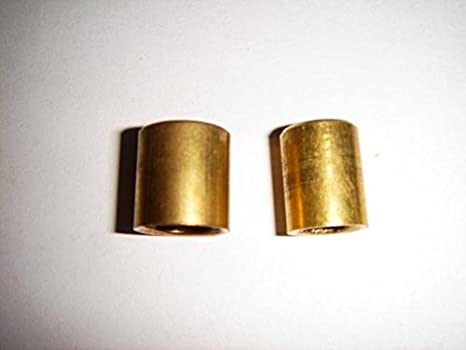 Anillo de soldadura de latón End Caps Stop extremos Fontanería accesorios 8 mm y 10 mm