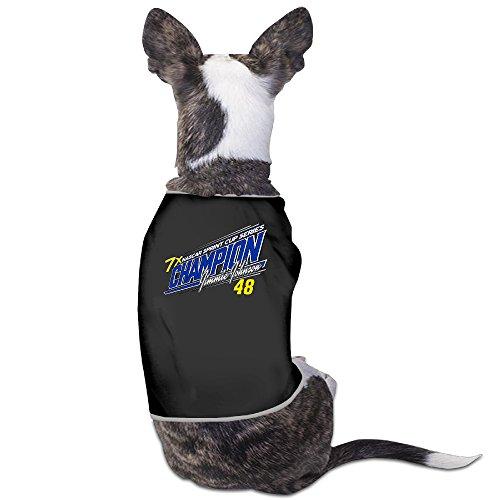 (2016 Sprint Cup Champion Jimmie Johnson Puppy Clothes Pet Supplies)