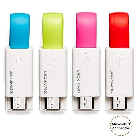 Amazon.com: Urbo - Cargador de llavero con conector USB-A a ...