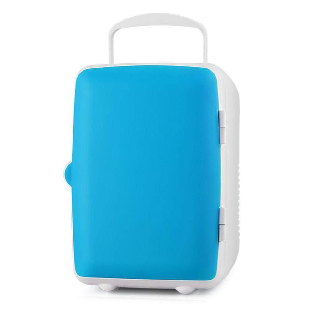 Mini Portable 4L Cooling Warming Refrigerators Fridge Freezer Cooler Travel Warmer for Auto Car Home Office Outdoor Picnic Travel 12V Light-Colored