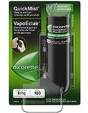 Nicorette Nicotine QuickMist Mouth Spray, Quit Smoking Aid, Fresh Mint, 1mg, 150 sprays
