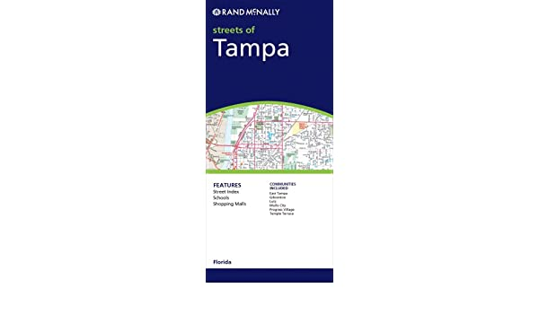 Rand Mcnally Tampa Florida Rand Mcnally Folded Map Cities Rand