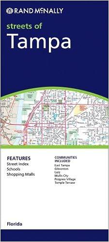 Rand McNally Tampa, Florida (Rand McNally Folded Map: Cities ...