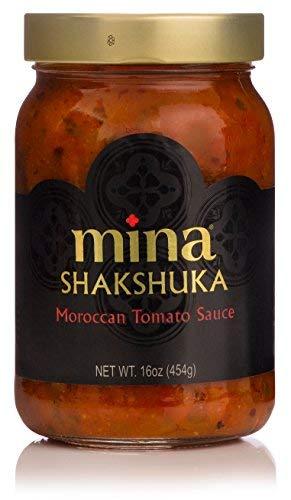 Mina Shakshuka Moroccan Spiced Tomato Sauce, 16 Ounce