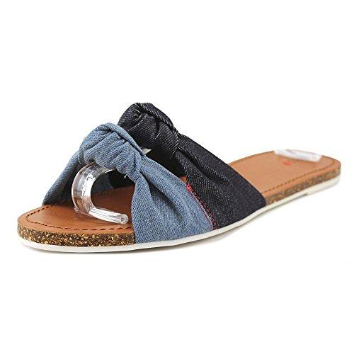 ED by Ellen Womens Shiri Open Toe Casual Flat Sandals
