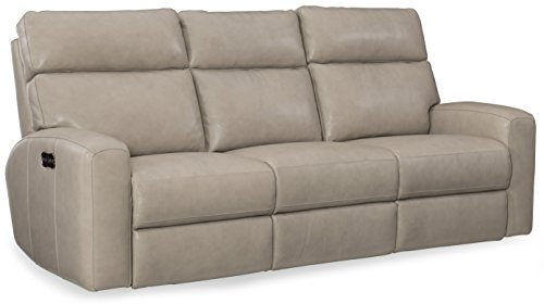 50165 Barlow Motion Sofa with Power Headrest, Cream ()