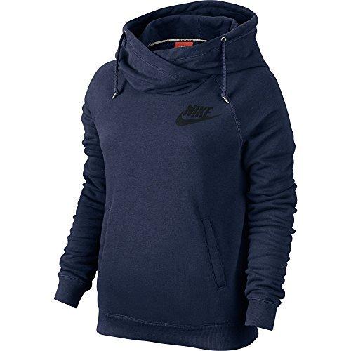 ck Women's Pullover Hoodie Obsidian Blue/Black 683776-451 (Size L) ()