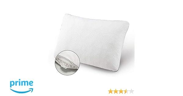 1pc Bamboo Memory Foam Bed Sleeping Pillow Queen Hypoallergenic w//Bag Hotel Home