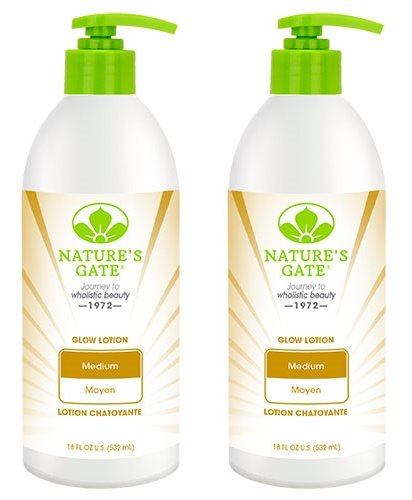 Nature's Gate All Natural Glow Body and Face Lotion for Medi