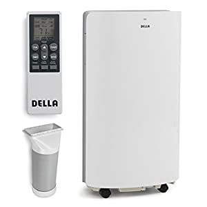 Della 14,000 BTU Evaporative Portable Air Conditioner / Heater / Dehumidifier / Cooling Function LED Panel Control