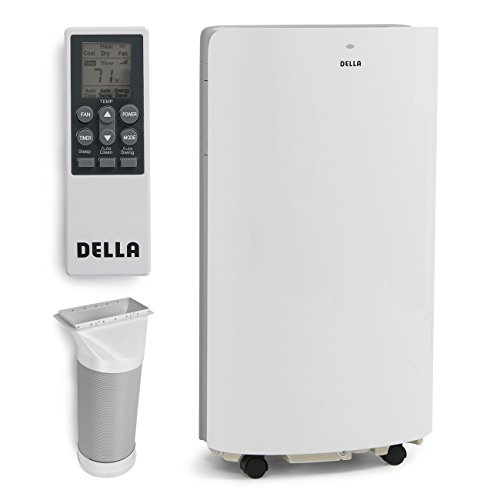 Della 14,000 BTU Evaporative Portable Air Conditioner / Heater / Dehumidifier / Cooling Function LED Panel Control (Portable Indoor Air Conditioner)