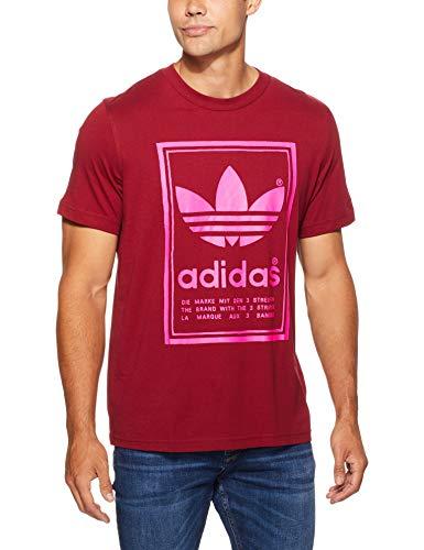 Collegiate Burgundy Homme T Vintage T Adidas shirt XqxYFTxw