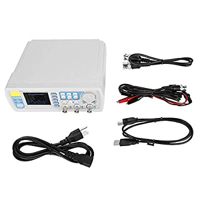 Signal Generator, High Precision Digital Dual-Channel DDS Signal Generator Counter, Arbitrary Waveform Pulse Signal Generator AC100-240V FY6800 Function Frequency Meter(us 30MHz)
