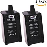 2 Pcs 2500mAh 11.1V High Capacity Upgrade Rechargeable Battery Pack Replacement Extended flight times for Parrot Bebop Drone 3.0 Quadcopter Parts