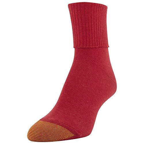 thumbnail 20 - Gold Toe Women's Classic Turn Cuff Socks, Multipai - Choose SZ/color